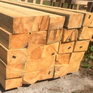 Шпалы железнодорожные деревянные